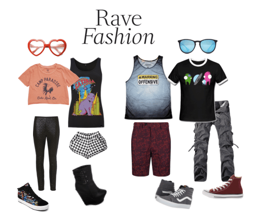 what to wear to edm festivals