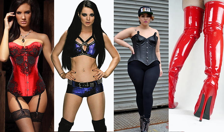Corsets and Bustiers Give the WWE Diva Style