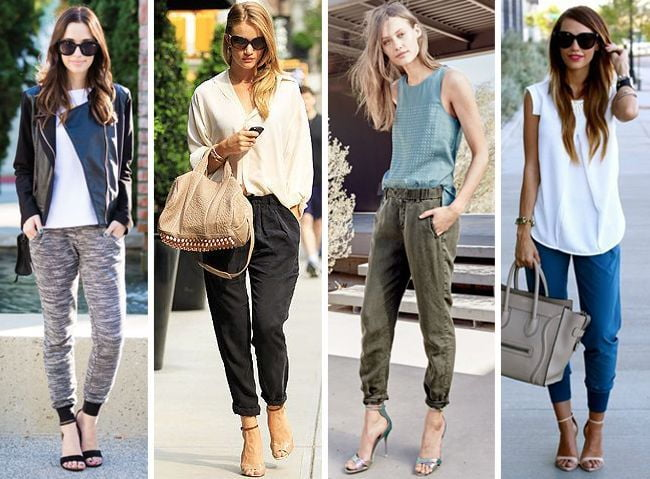 Wear joggers for a comfy yet put- together outfit.