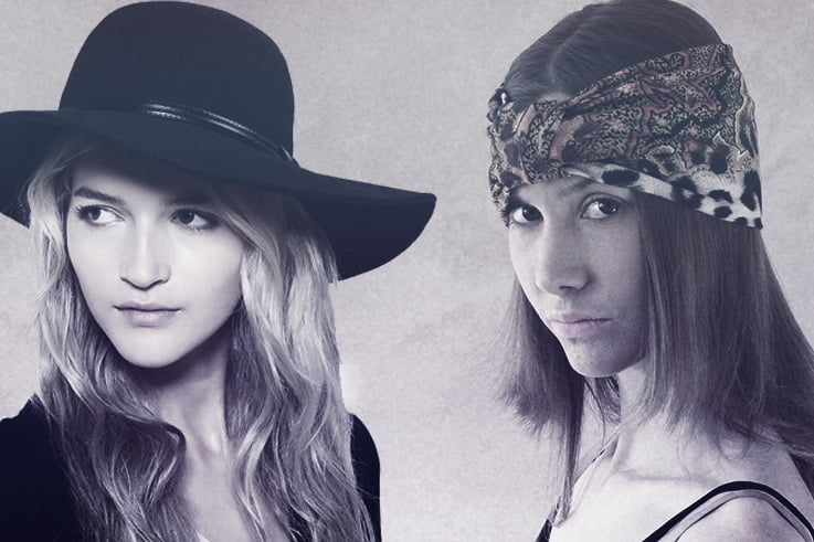 From floppy hats and wide-brimmed hats to bold-colored scarves and lace  elasticated headbands e6af2d6ce9fb