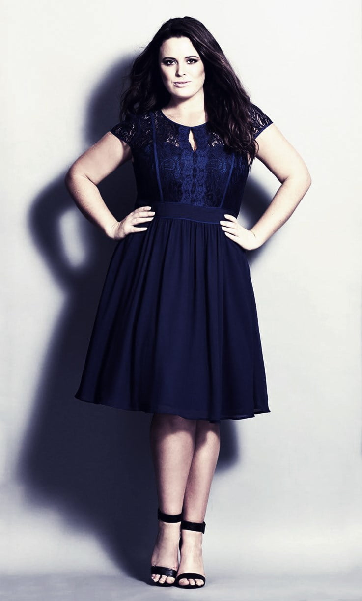 How To Rock A Short Dress When You Are Plus-Size