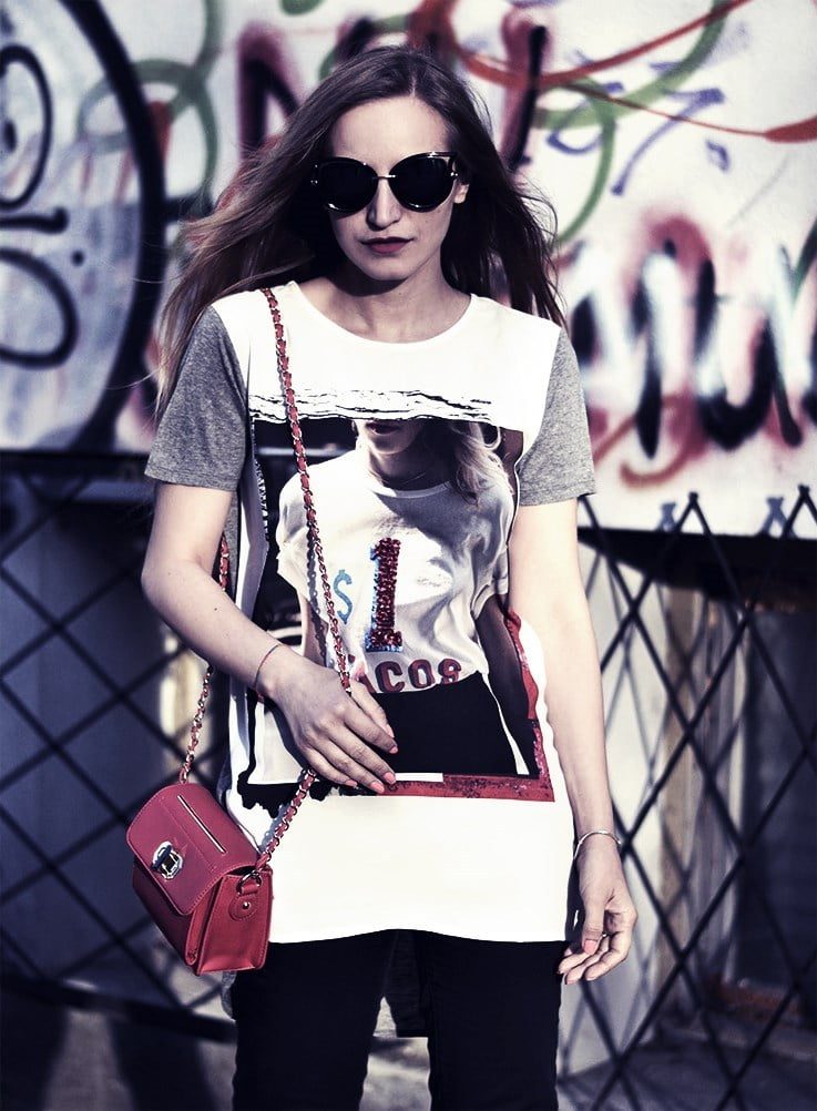 61d15601c2c7 27 Ways to Style Graphic Tees And Look Chic