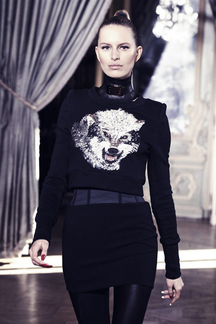 Goth animal prints lean more towards wolves than leopards