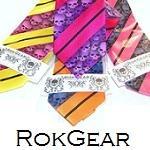 Skull necktie by rokgear