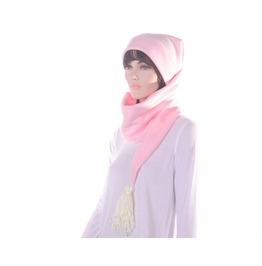Goth Pastel Pink Long Stocking Cap Tassel