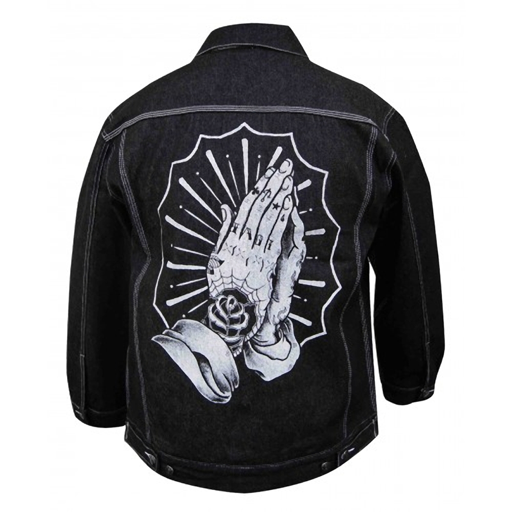 sinners denim jacket