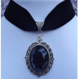 gothic choker steampunk necklace gothic lolita