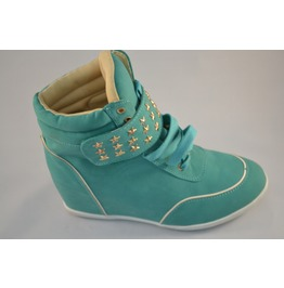 Teal_wedge_sneakers_with_stud_details_sneakers_4