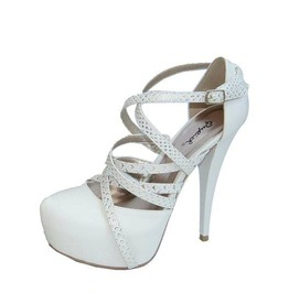 White_heels_with_golden_tinted_straps_heels_2