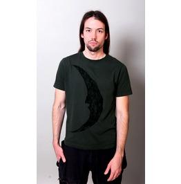 """""""Crescent Moon"""" Men Shirt / Charcoal"""