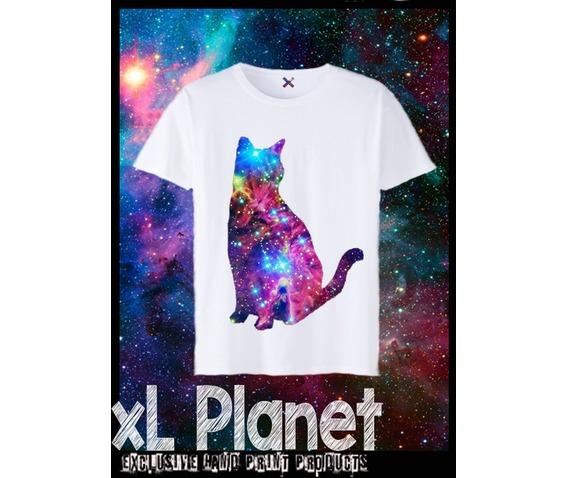 Galaxy White t Shirt Galaxy Cat Kitty Kitten White