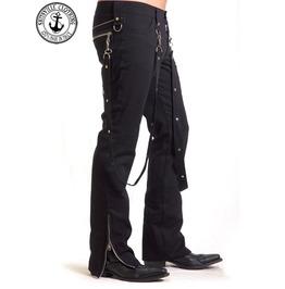 Shitsville Clothing Black Bondage Pants Made Italy