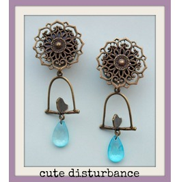 Mandala Plugs Hanging Bird Perch