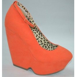 Orange_wedge_with_ankle_strap_and_leopard_print_interior_wedges_2