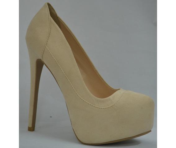 Nude Platform Heel-Heels