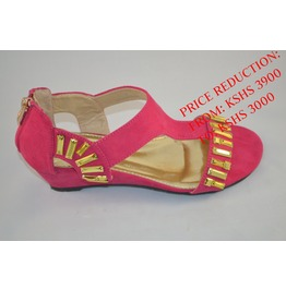 Pink_wedge_with_gold_studded_details_flats_2