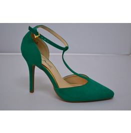 Green_heel_with_t_strap_and_ankle_strap_heels_2