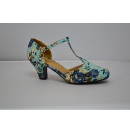 Flowered_print_kitten_heel_with_t_strap_pumps_2