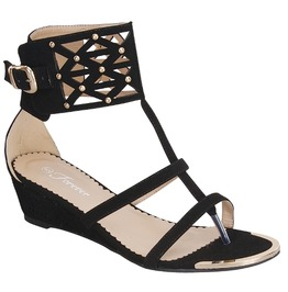 Black_studded_gladiator_wedge_sandal_with_metallic_cap_wedges_2
