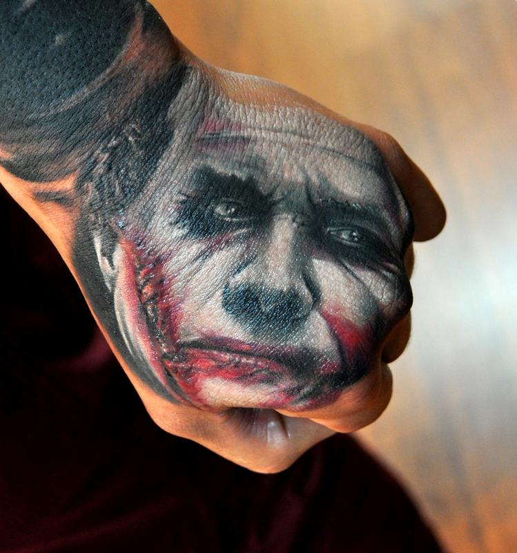 Joker Hand Tattoos: Most Stunning Hand Tattoos