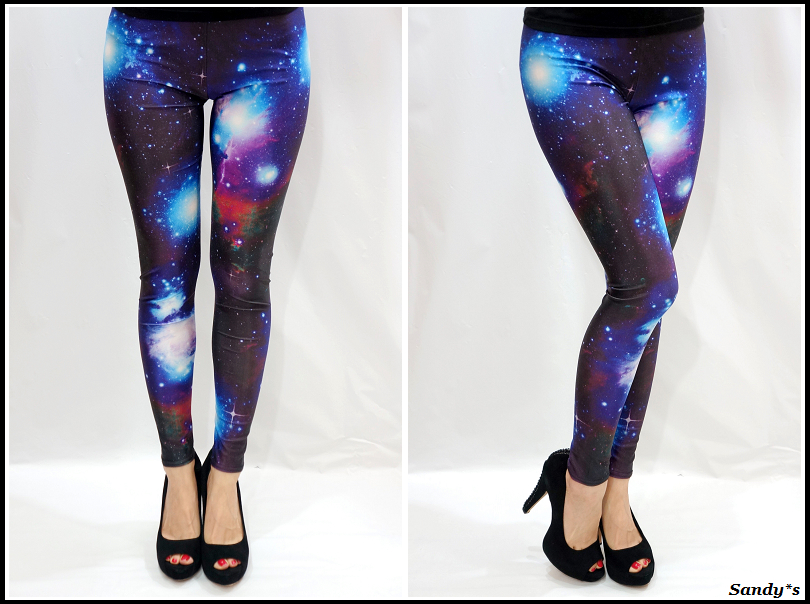 Trendy Girl NYC: Fashion Trend: Galaxy Tights