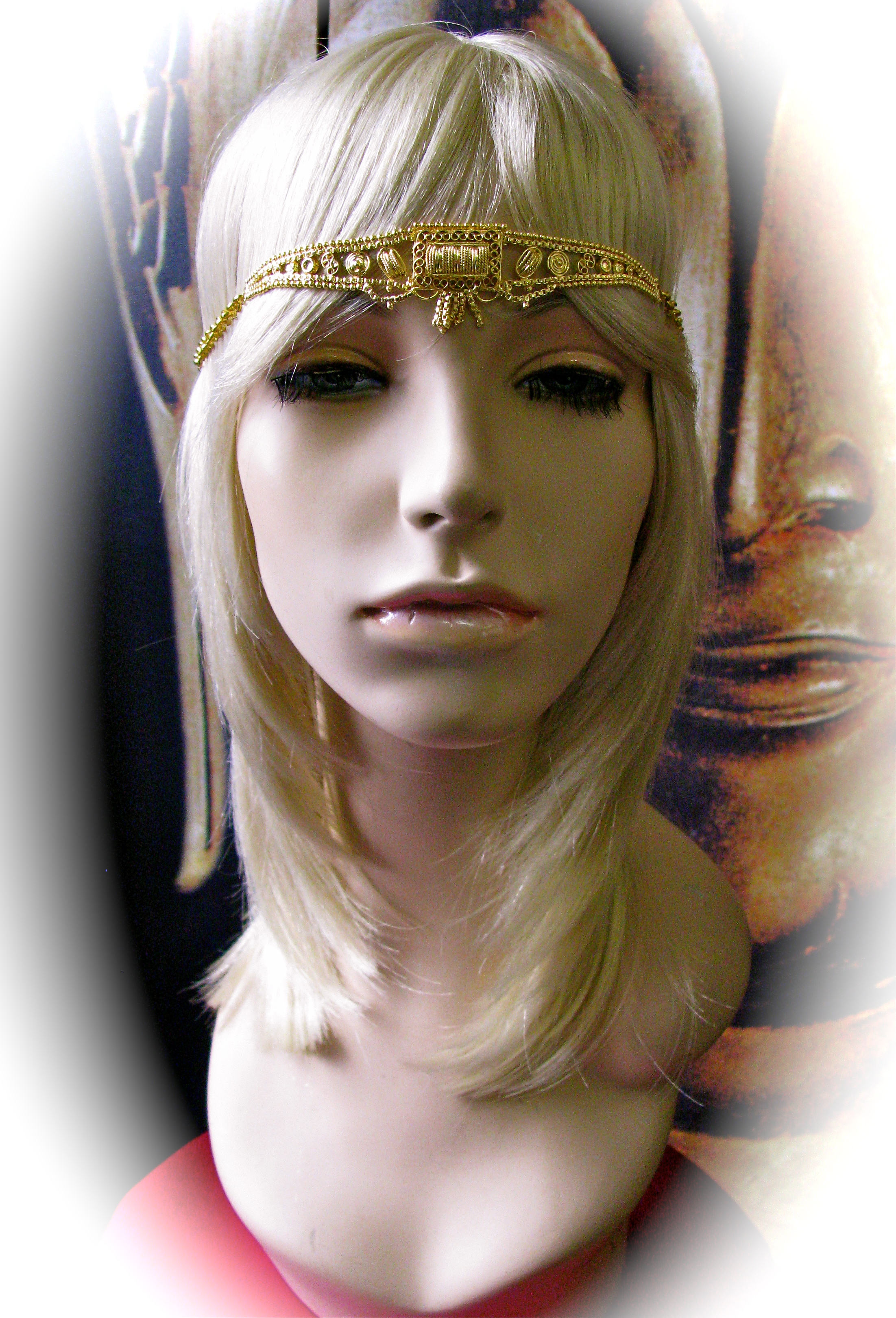 cleopatra headdress bollywood bazaare