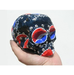 Coke head large metal kawaii skull totem_collectables _4