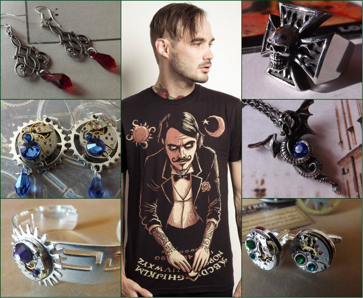 Featured booth steamretro exclusive steampunk and gothic jewelry store