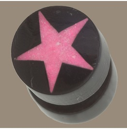 Horn Coral Star Split Ear Plugs Normal Ear Piercings