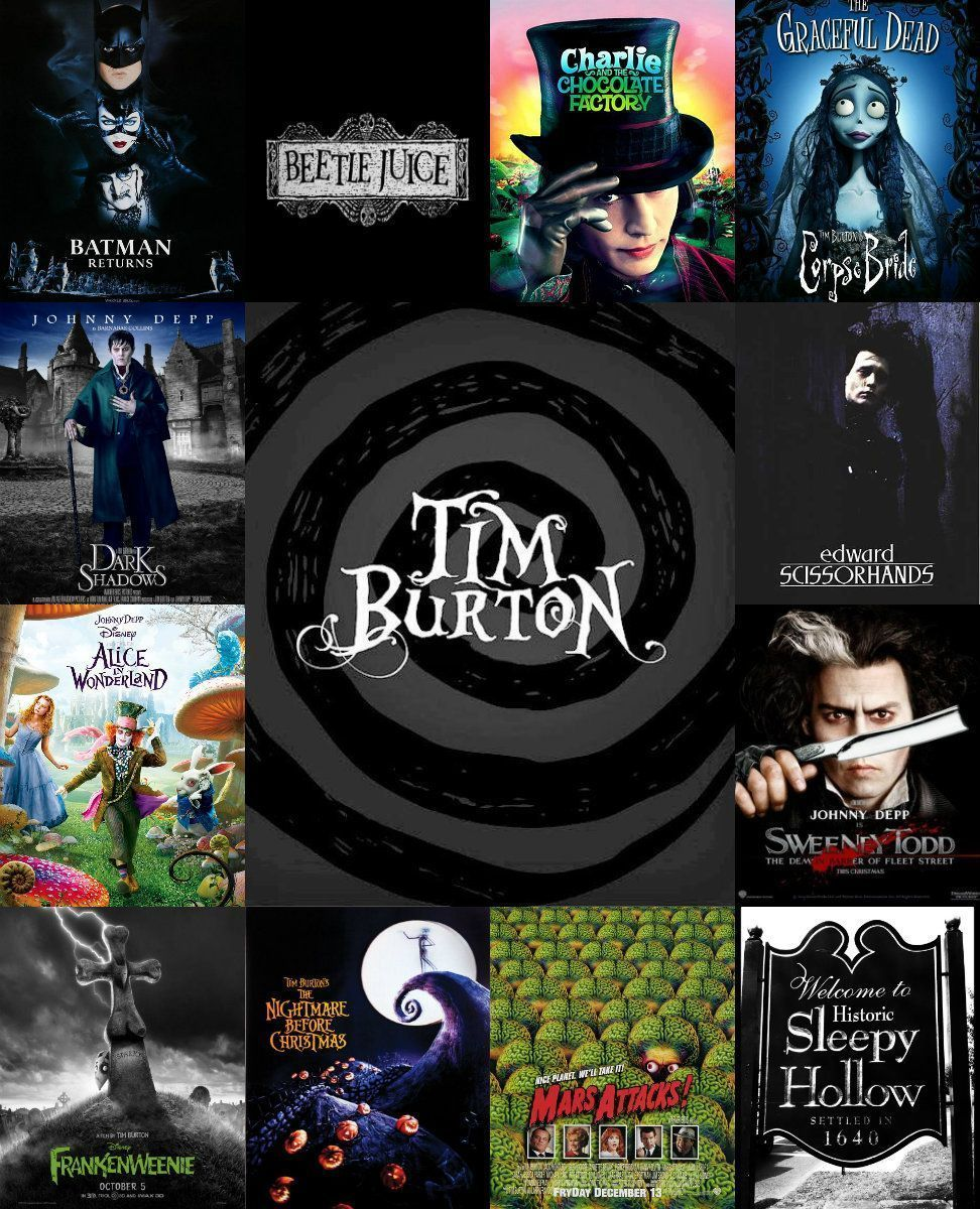 A peek to tim burtons gothic films and style tips part 2
