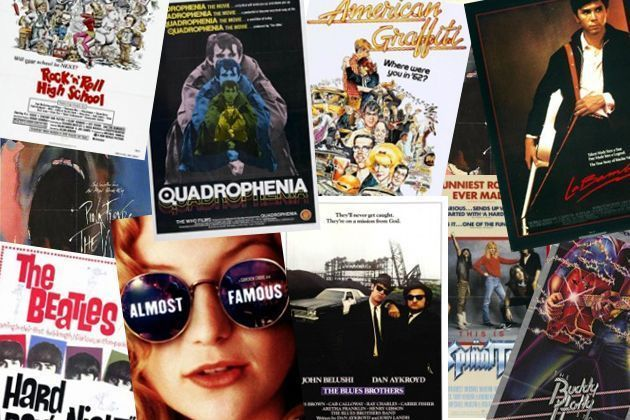 The top rock and roll movies of all time