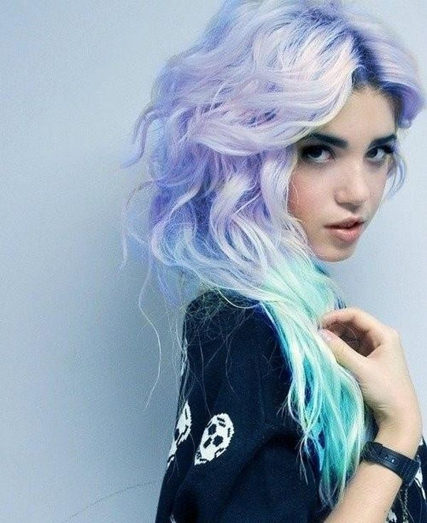 Girls With Light Purple Hair Tumblr How To Rock Summer Pas...