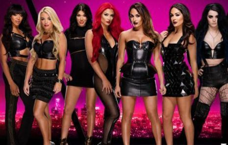 Steal the goth punk look of wwes total divas
