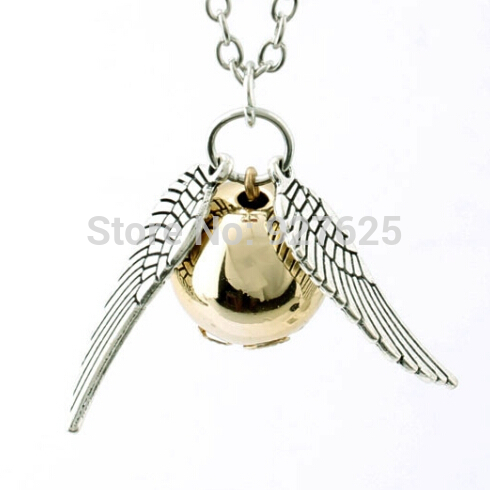 Golden Snitch Necklace Free Postage!