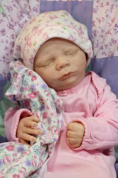 Rebornpuppen Realborn Reborn Girl Baby Doll Aria Rebornpuppen & Zubehör