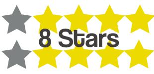 8 stars 5