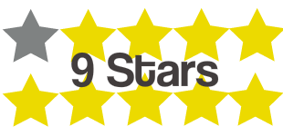 9 stars 3