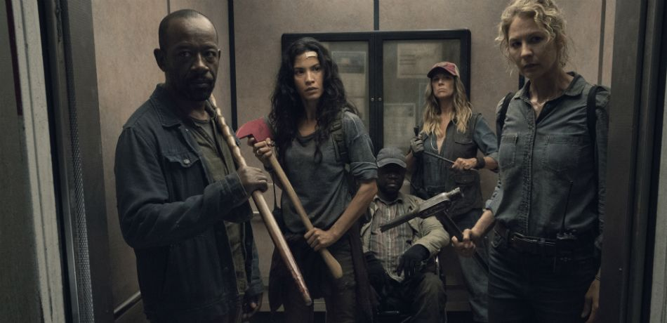 Amcs fear the walking dead season 4 episode 15 i lose people morgan luciana wendell sarah and june