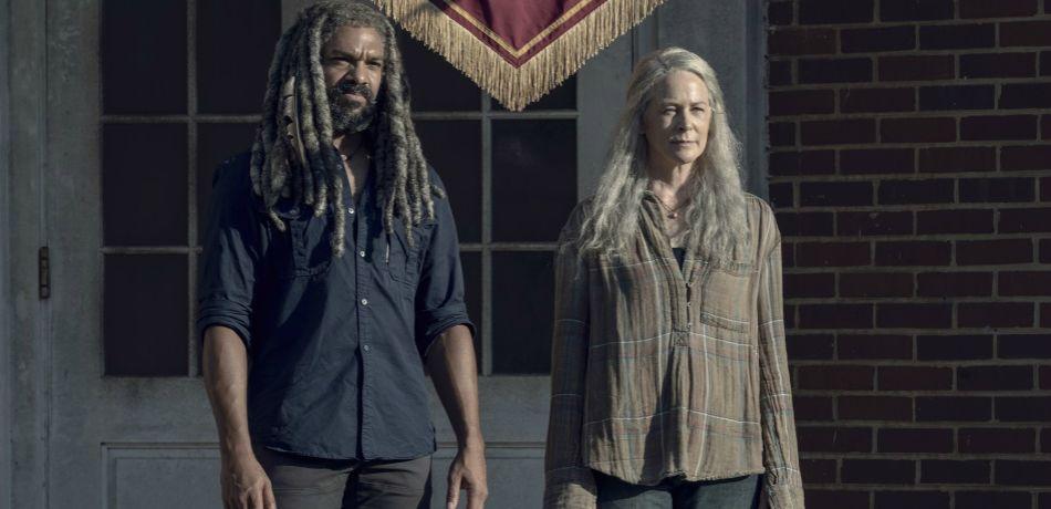 Amcs the walking dead season 9 episode 13 chokepoint king ezekiel carol peletier 1