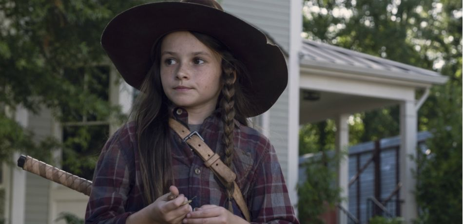 Amcs the walking dead season 9 episode 6 who are you now judith grimes