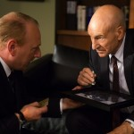 Adrian scarborough as harry patrick stewart as walter blunt episode 101 150x150