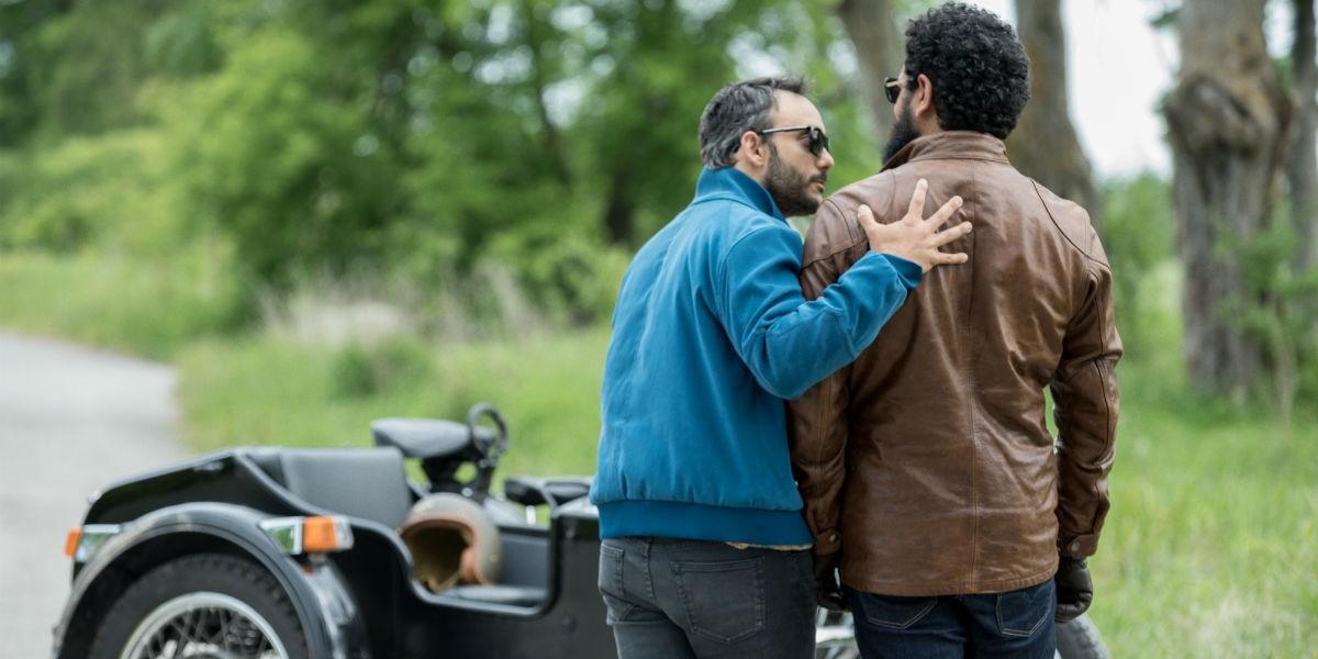 American gods 2x05 salim jinn bike