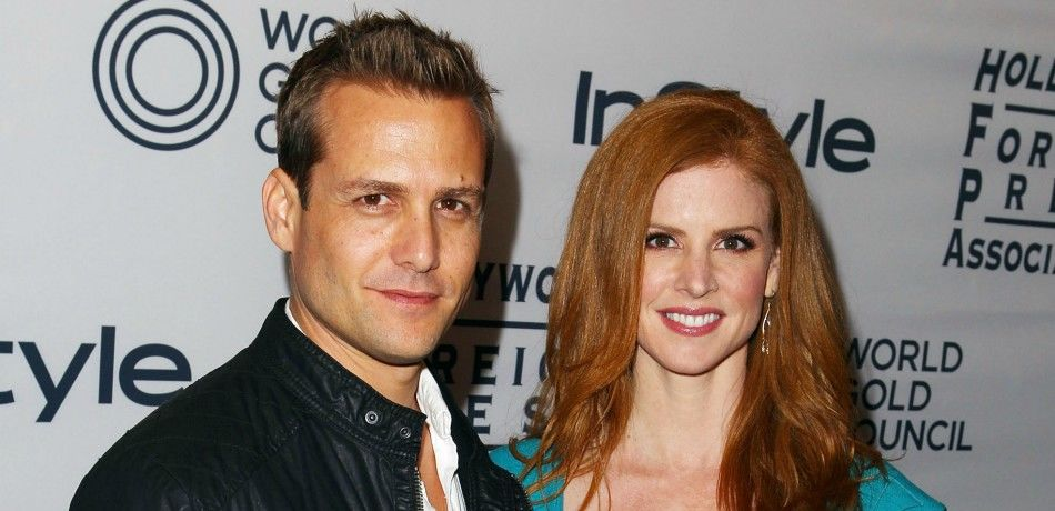 Gabriel macht and sarah rafferty of suits