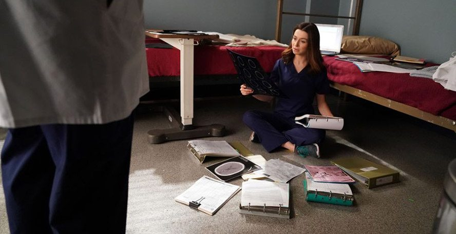 Greys anatomy 14x03 amelia