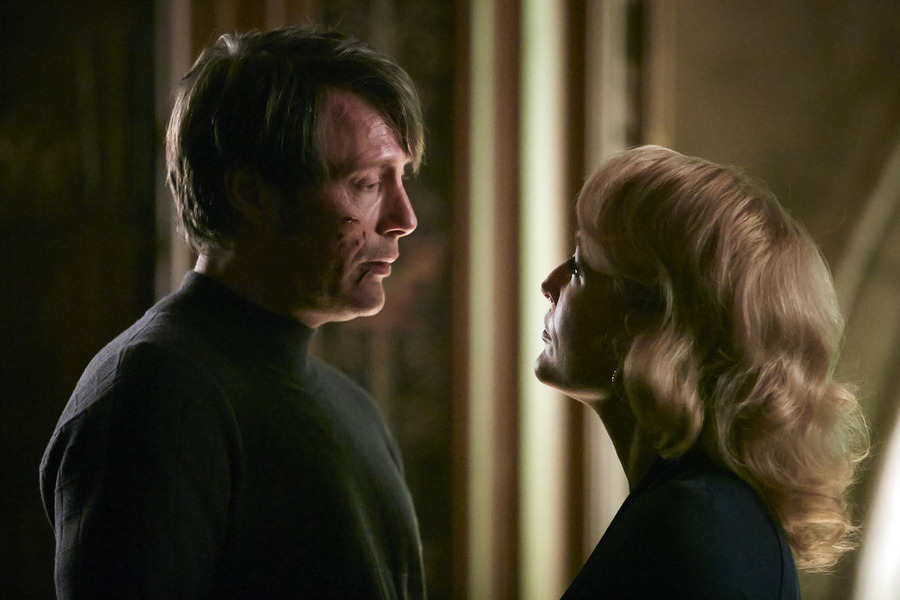 Hannibal season 3 episode 6 hannibal bedelia1