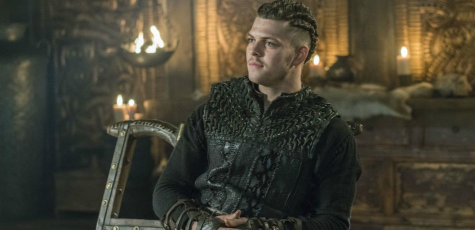 History channels vikings season 5 episode 12 murder most foul ivar the boneless as seen in episode 11