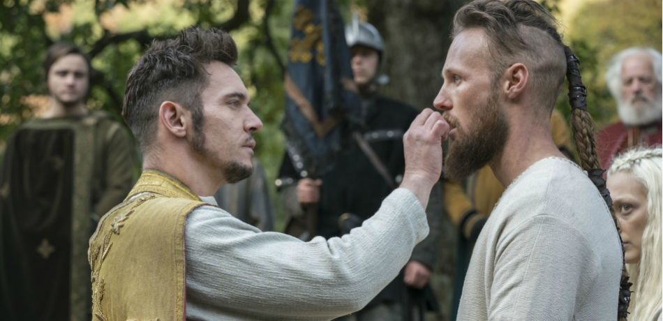 History channels vikings season 5 episode 13 a new god bishop heahmund and ubbe