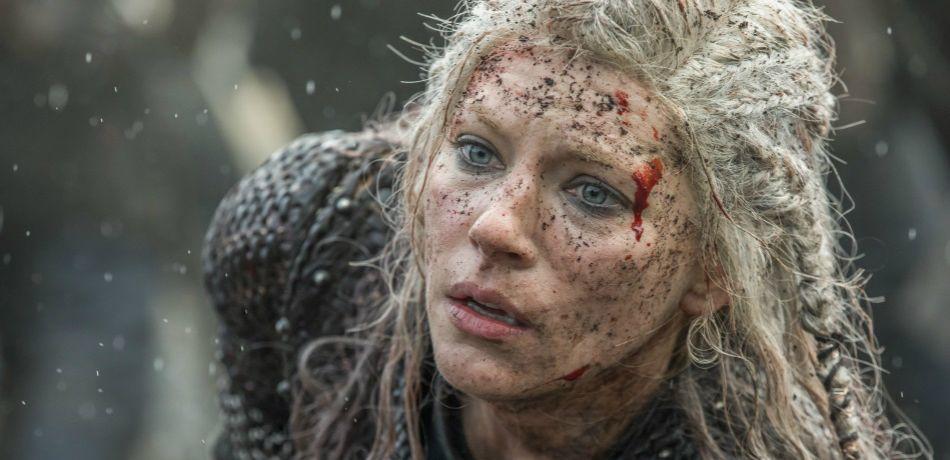 History channels vikings season 5 episode 18 baldar lagertha as seen in episode 15