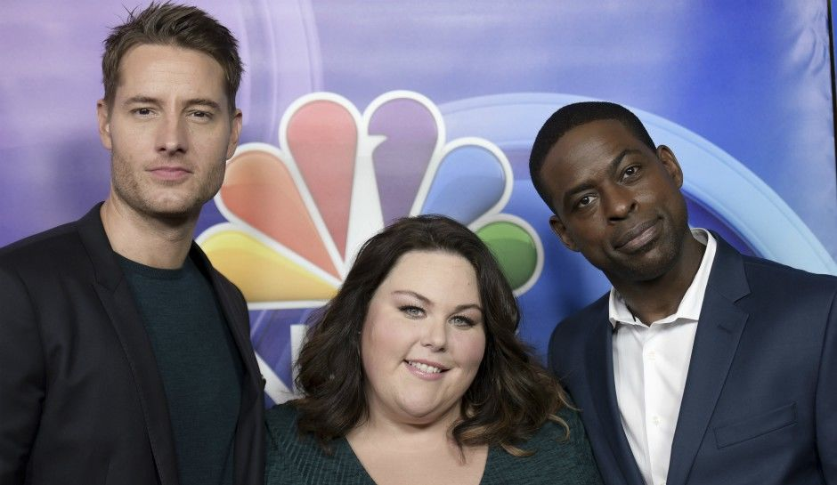 Justin hartley chrissy metz and sterling k. brown of this is us