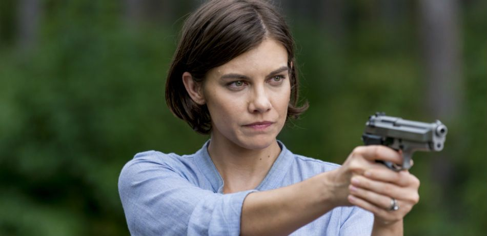 Lauren cohan as maggie greene in the walking dead season 8 episode 12